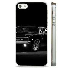Dodge Charger Awesome American Car CLEAR PHONE CASE COVER fits iPHONE 5 6 7 8 X