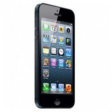 Móviles y smartphones negros Apple iPhone 5, 1 GB