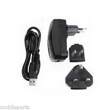 Genuine Blackberry Micro USB World Mains Charger for 9800 9810 9850 9860 Torch