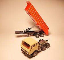 Mercedes 2232 Zugmaschine + Kipper Auflieger tractor tipper trailer, Siku 1:55!