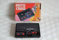 MOTO CROSS  jeux éléctronique ancien rétro gaming TOMY MIRO MECCANO fonctionne
