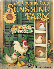 New ListingDecorative/Tole Painting Pattern Booklet-The Country Club Sunshine Farm-Chicken