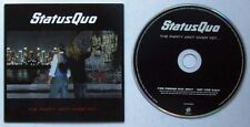 Statut quo the party Ain 't Over yet 2005 ADV promo cardcover CD