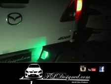 Mazda bt50 Green L.e.d numberplate bulbs 2012- 2017 by FLDesigned