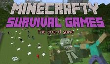 New Minecrafty Survival Games - The Board Game - Printable Download
