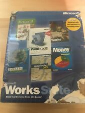 Microsoft Worksuite 2001_word 2000_encarta_money_autoroute