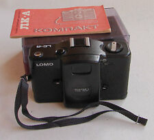 USSR Soviet LOMO-Compact LC-A camera in case MINT