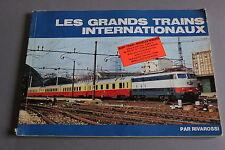 X533 RIVAROSSI Train catalogue 138 pg 1975 les grands trains internationaux F