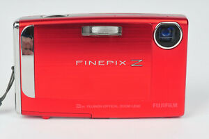 Fujifilm Finepix Z10fd Compact Digital Camera in Red