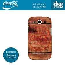 Coca-Cola Cubierta Carcasa de diseño de madera genuina para Samsung Galaxy S3