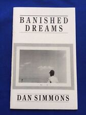 BANISHED DREAMS - SIGNED LIMITED EDITION BY DAN SIMMONS
