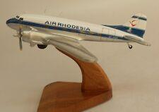 Douglas DC-3 Air Rhodesia DC3 Airplane Wood Model Free Shipping Regular New