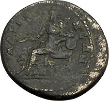 HADRIAN 117AD Hadrianeia in Bithynia Atuhentic Ancient Roman Coin Cybele i44196