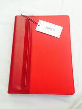 Filofax A4 Graphic Zip Folder Red