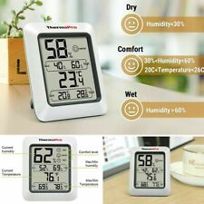 LCD Digital Indoor Screen Hygrometer Thermometer Thermopro TP50 High Accuracy