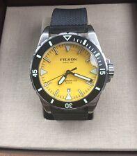 Shinola Filson Dutch Harbor Men's Watch 30 ATM Silicone Band F0120001746 NWT