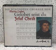 BACH Gelobet seist du Jesus Christ: die schönsten choräle von MARTIN LUTHER