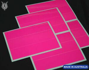 "15 HOT FLUORO PINK Arrow Wraps 4x1"""