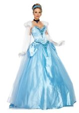 Women's Disney Deluxe Princess Cinderella Limited Edition Dress Costume Size M