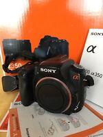 Sony Alpha 350 Spiegelreflex-Kamera DSLR