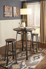Signature Design by Ashley Furniture Challiman Bar Stool Pub Height Set of 2