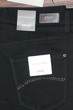 Jeans Hose Brax Perma Black Model Carola Glamour Größe 38   Neu mit Etikett