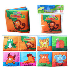 1PC Baby Cloth Book Toy Kid Animal Numbers Cognize Learning Educational Toy