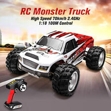 WLtoys 1/18 RC Car Remote Control Monster Hobby Racing Buggy Truck A979B 43MPH