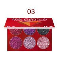 5 farben Diamant Goldene Pulver Glitter Lidschatten Make-Up Lidschatten Shi S9I2