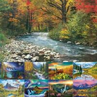5D DIY Full Drill Diamond Painting Scenery Cross Stitch Needlework Craft Arts