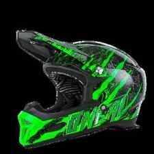 CASCO MTB ENDURO O'NEAL Fury RL Helmet MERCURY black/green nero/verde TG. M