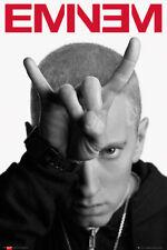 Eminem Horns Music Rap Hip Hop Maxi Poster Print 61x91.5cm | 24x36 inches