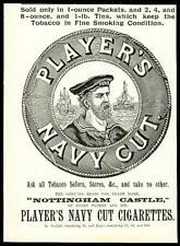 1896 Antique Print - ADVERTISING Players Navy Cut Nottingham Castle Tobacco (15)
