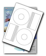 1000 Hovat CD / DVD Labels Matt Offset style