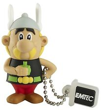 CLE USB 4GO EMTEC ASTERIX / stick clef flash drive 4gb 4 go obelix abraracourcix