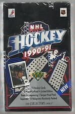 1990 UPPER DECK HOCKEY FACTORY SEALED WAXBOX (36 PACKS)  FREE SHIPPING