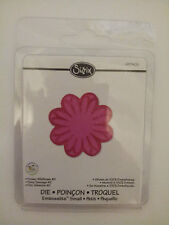 Sizzix Embosslits FLOWER WILDFLOWER #2 Sizzlits fits Cuttlebug 657405