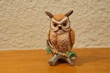 Lefton China Figurine Owl 01882 hand painted, collectible, Vintage