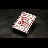 Bicycle Blanco Collar Jugando a las Cartas Póquer Juego de Cartas