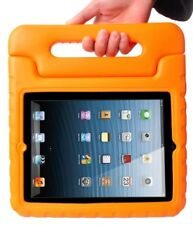 For iPad Mini 1, 2, & 3 ORANGE Kids Shock Proof EVA Foam Case Handle Cover Stand