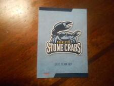 2015 CHARLOTTE STONE CRABS Single Cards YOU PICK FROM LIST $1 to $3 each OBO