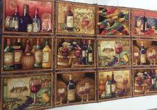 "1 Panel Springs Susan Winget Wine Vineyard   Fabric Panel 23"" x 44"""