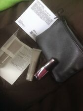 Laura Mercier 4 Pc Set Makeup Bag, Lip Gloss, Nude Tinted Moisturizer, primer