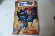 """SUPERMAN BATMAN""""NEMICI PUBBLICI -FUMETTO Ed MONDADORI 2013-PERFETTO/ FUM11"""