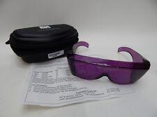 Noir LaserShield Lasermate Protective Eyewear Glasses 190-400nm OD 6+ PURPLE