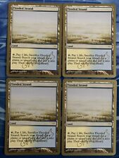 Magic the Gathering MTG championship Flooded Strand x4 NM- NEVER PLAYED FASTSHIP