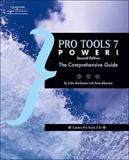 Pro Tools 7 Power, 2E (Book & CD), Very Good, Colin MacQueen Book