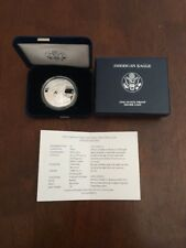 2010-W US MINT American Eagle One Ounce Silver Proof Coin, w/Box & COA