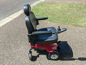 Electric Wheelchair Pride Jazzy Select New Batteries Red Good Condition