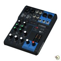 Yamaha MG06 6-Channel Mixing Console 6-Input Live Recording Stereo Mixer